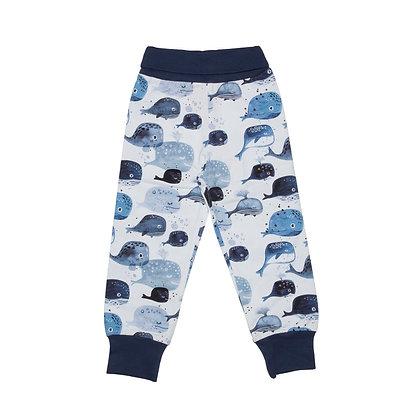 Pants Baby Whales von Walkiddy