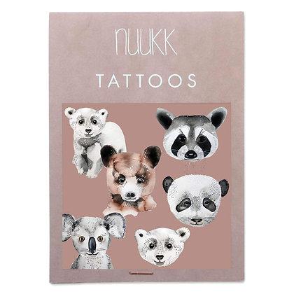 Organic Tattoos Bären (1.17) von Nuukk