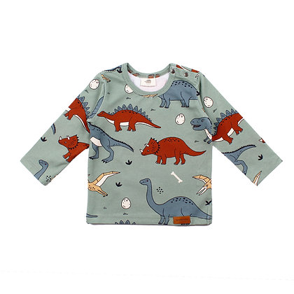 Shirt langarm Funny Dinosaurs von Walkiddy