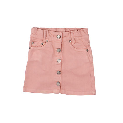 Jeans Skirt Denim Pink von Walkiddy