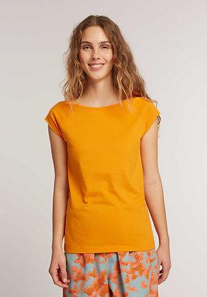 Cap Sleeve T-Shirt in orange von ThokkThokk