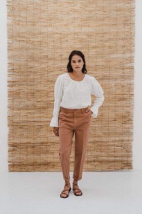 Bluse Ritu in off-white von J-Label