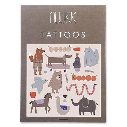 Organic Tattoos Bär (1.08) von Nuukk