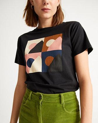 Black Med Shirt von Thinking MU