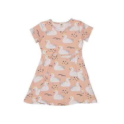 Kleid Princess Swans von Walkiddy
