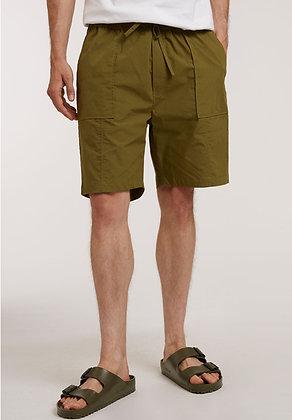 Shorts aus Baumwolle in oliv von ThokkThokk