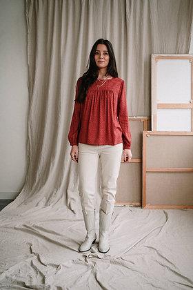 Mansi blouse in Animal blocks von J-Label
