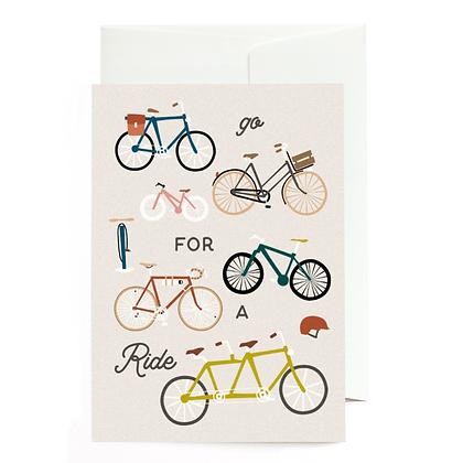 """Grußkarte """"Ride"""" von Roadtyping"""