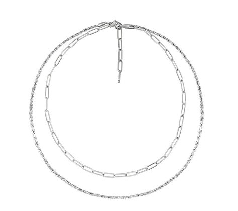 Kette Silver Layered Chain von Weathered Penny