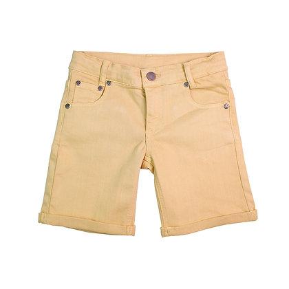 Jeans Shorts denim apricot von Walkiddy