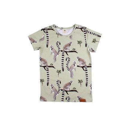 T-Shirt Lemur von Walkiddy