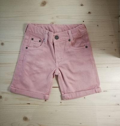 Jeans Shorts denim pink von Walkiddy