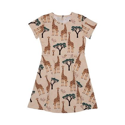 Kleid Giraffe von Walkiddy