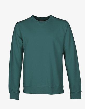 Classic Organic Sweatshirt in Ocean Green von Colorful Standard