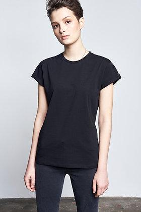 Boyfriend Shirt in schwarz von Nine to Five