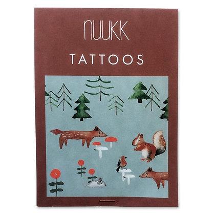 Organic Tattoos Waldtiere (1.04) von Nuukk