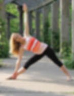 Lori Kampa Kearney, Certified Yoga Instructor. Available for corporate yoga classes, senior chair yoga or private instruction.