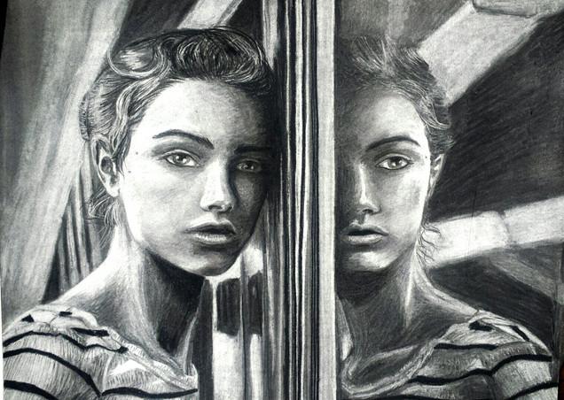 Subway Reflection