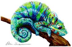 Chameleon Perch