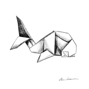 Whale Origami