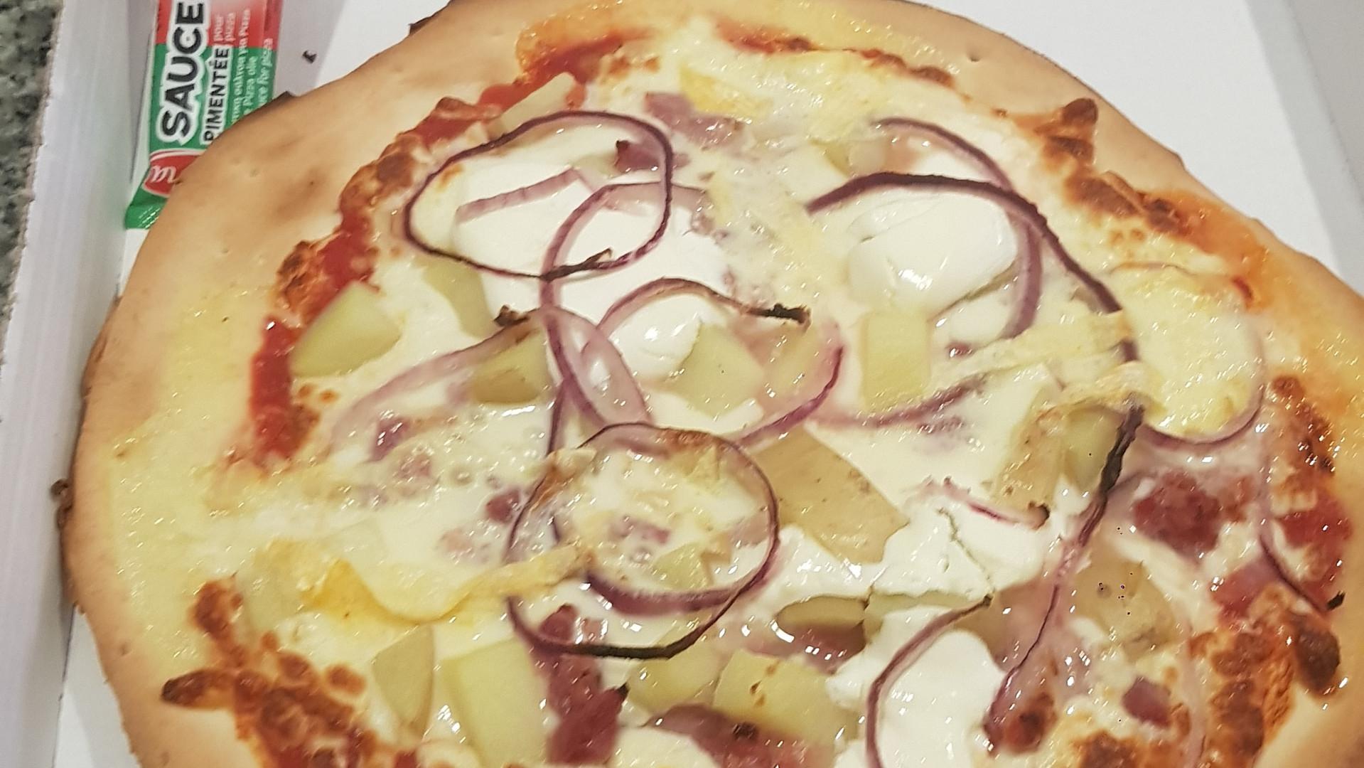Pizza à emporter