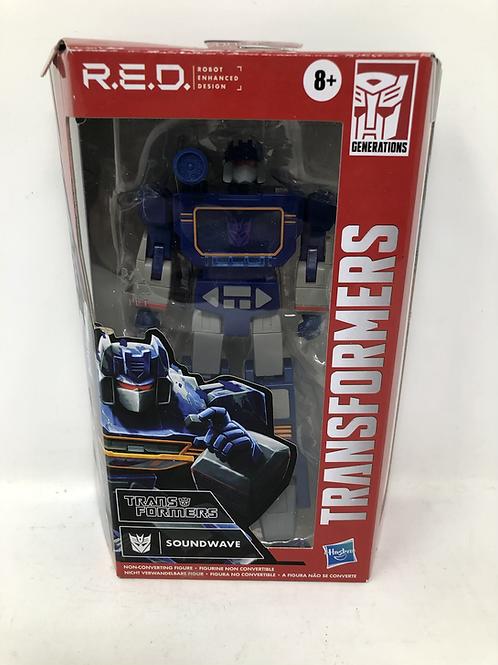 Transformers R.E.D. Soundwave Hasbro No Cassette