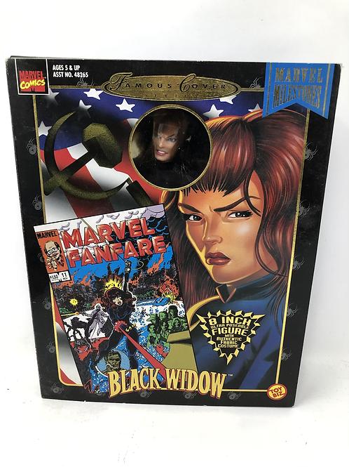 "Marvel Famous Covers Black Widow 8"" Toybiz"