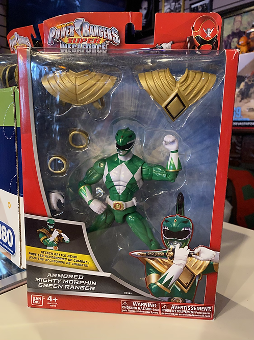 Power Rangers Megaforce Armored Green Ranger Bandai