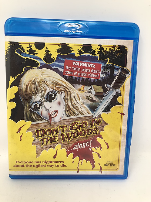 Don't Go In The Woods Blu Ray