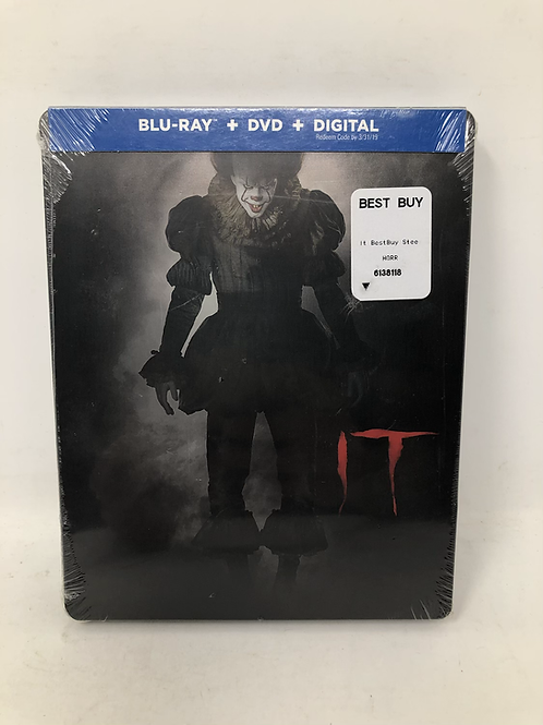 IT Blu Ray Steelbook Sealed Pennywise