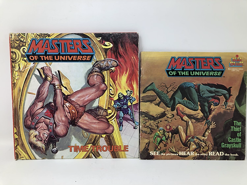 Masters of the Universe Read Along 2 Books