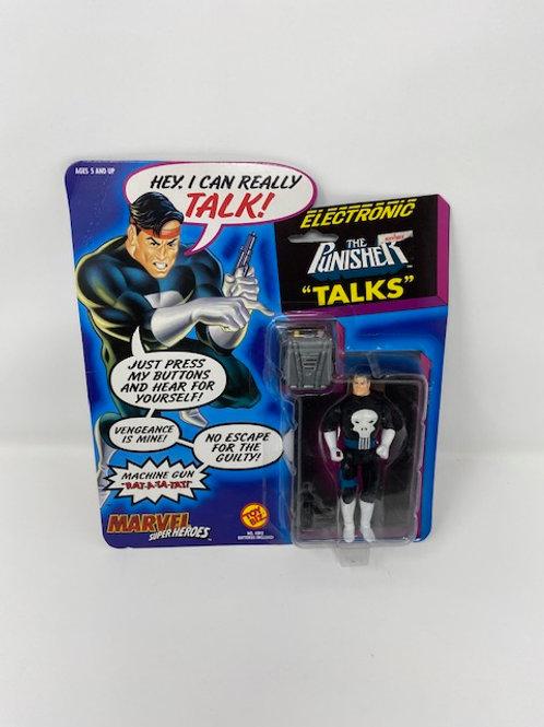 Punisher Talking Electronic Figure 1991 Toybiz
