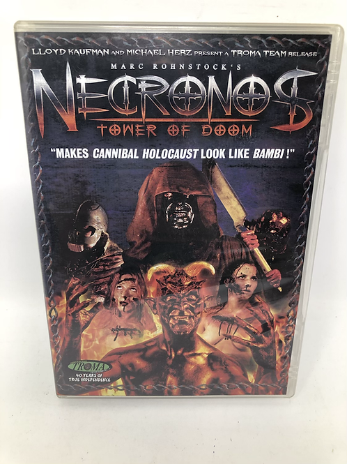 Necronos Tower of Doom DVD Troma