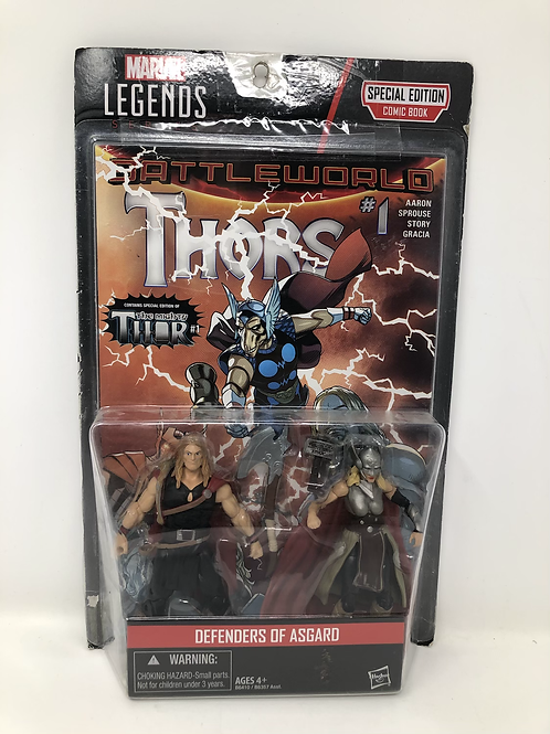Defenders of Asgard Thor Comic Pack