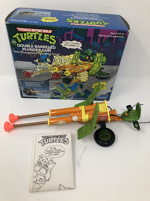 Tmnt Teenage Mutant Ninja Turtles Plunger Gun 1989 Playmates