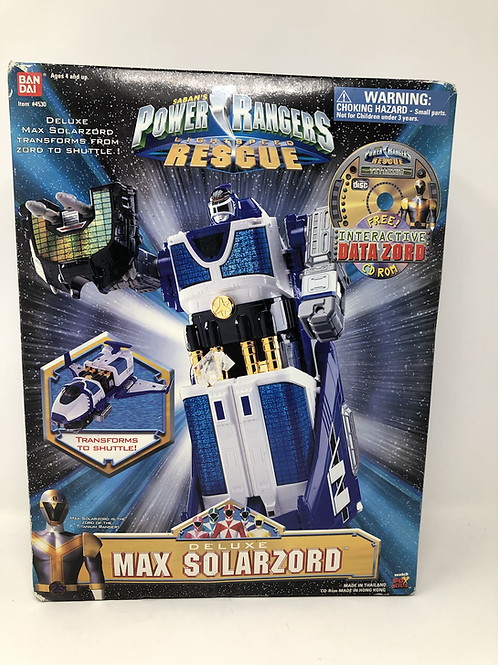 Saban's Power Rangers Lightspeed Rescue Deluxe Max Solarzord Bandai