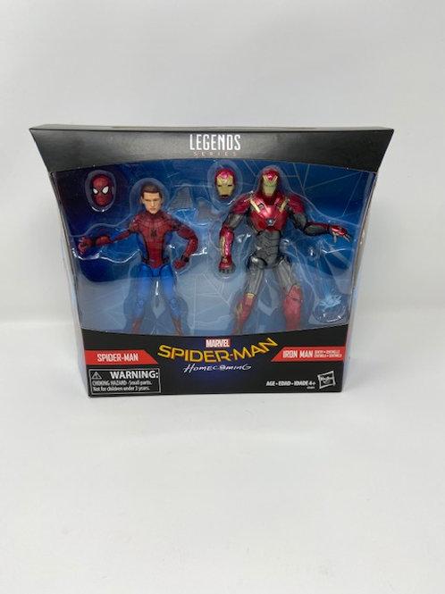 Spider-man & Iron Man Homecoming Marvel Legends