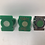 Thumbnail: Green Lantern Ring Lot. One signed by Martin Nodell