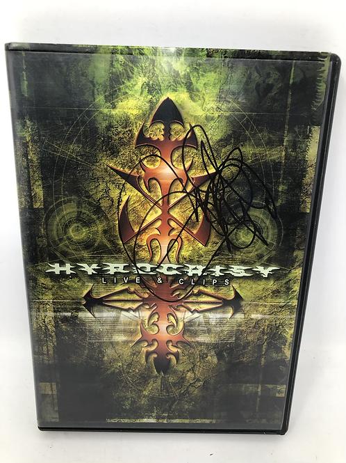 Hypocrisy Live & Clips Signed DVD