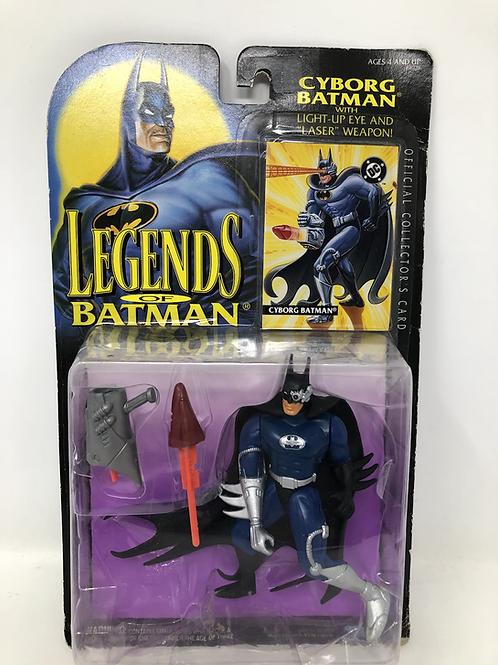 Legends of Batman Cyborg Batman Kenner