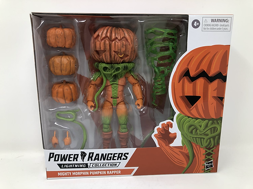 Mighty Morphin Power Rangers Pumpkin Rapper Hasbro
