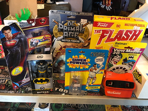 DC Mystery Box - Get a surprise box of DC items!