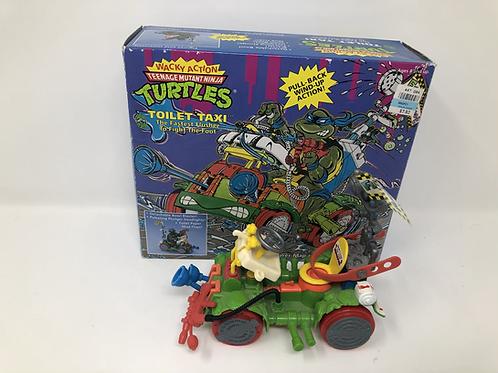 Tmnt Teenage Mutant Ninja Turtles Toilet Taxi Playmates