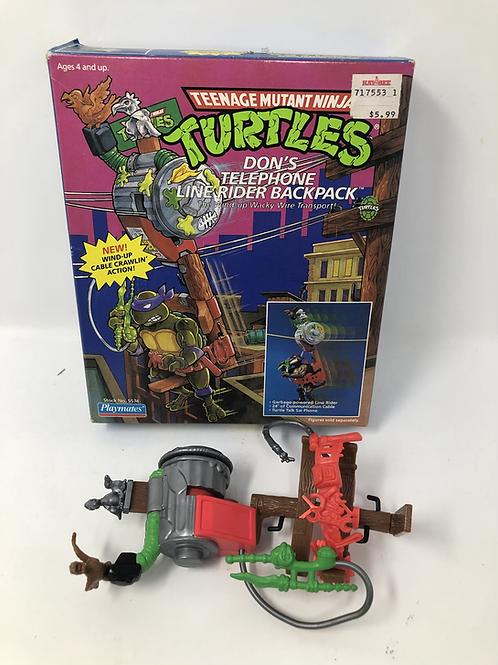 Tmnt Teenage Mutant Ninja Turtles Don's Telephone Line Backpack Playmates