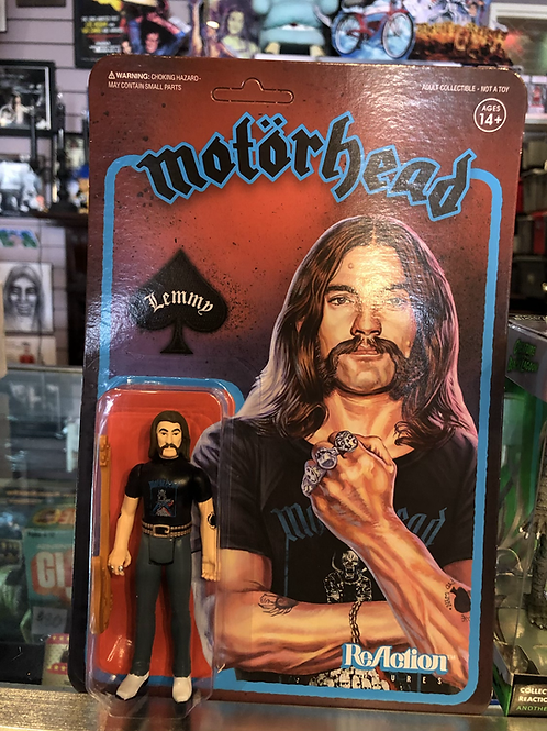 Motorhead Lemmy Super7 Reaction Figure