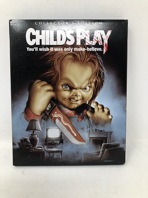 Scream Factory Child's Play Blu Ray with Slip Cover