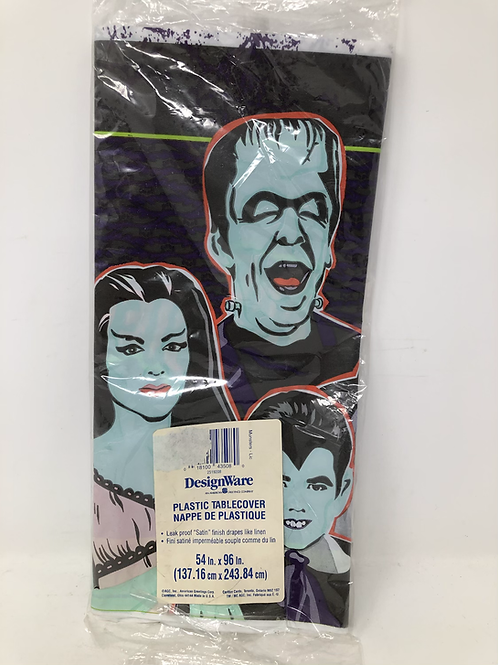 The Munsters Vintage Sealed Plastic Tablecloth
