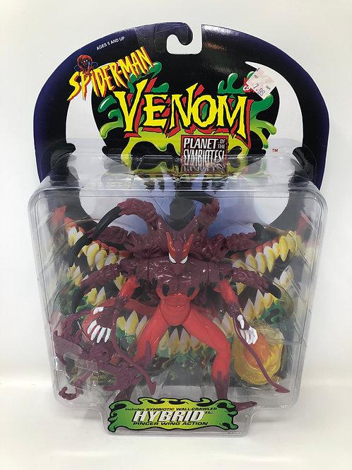 Spider-man Venom Hybrid Planet of the Symbiotes 1996 Toybiz