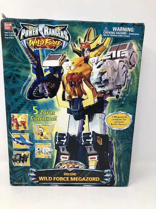 Power Rangers Wild Force Deluxe Megazord Bandai