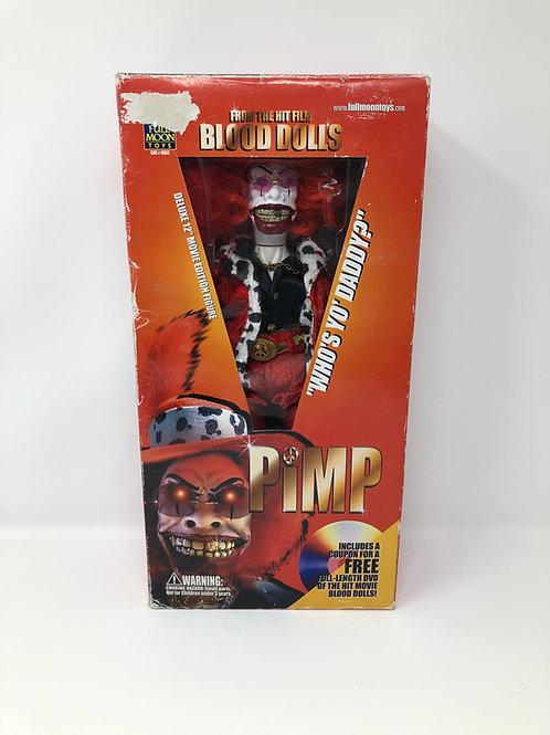 "Blood Dolls Pimp 12"" Doll Full Moon w/ DVD"